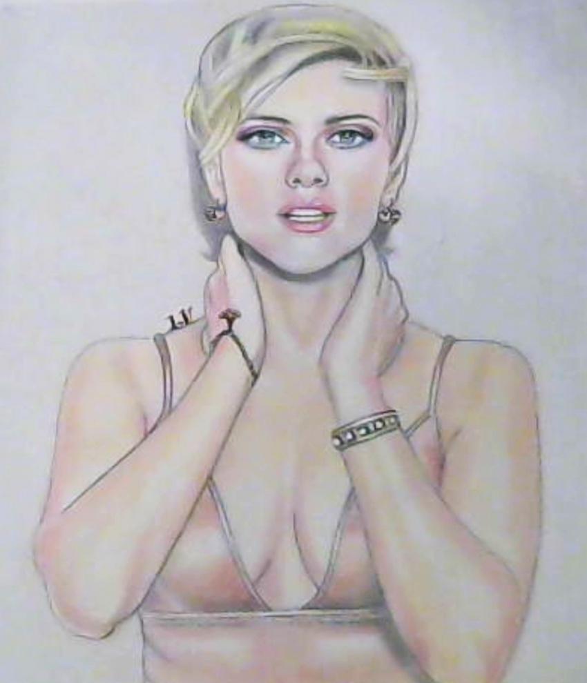 Scarlett Johansson par Delilah5